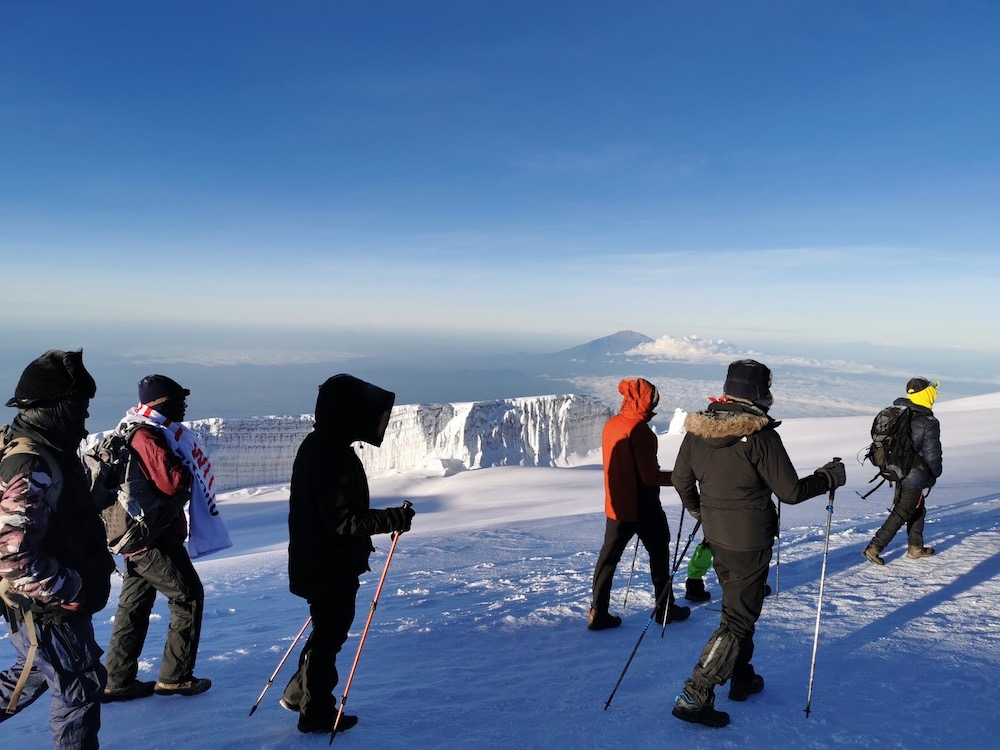 Mountain Climbing with Exceed Tours and Safaris