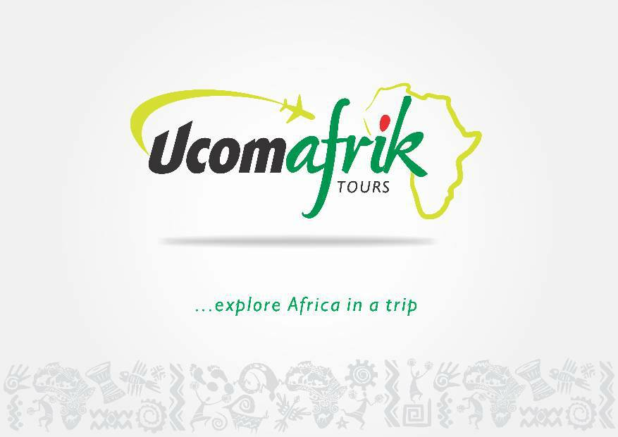 This is the ucomeafrik tours logo for Tour Guide Africa (TGAFrica) Series #2